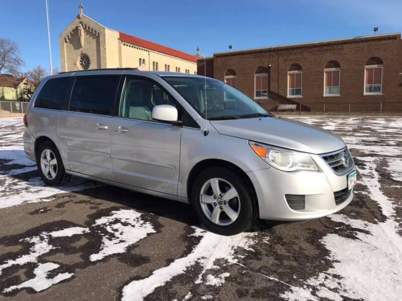 2011 Volkswagen Routan for sale at Angies Auto Sales LLC in Newport MN