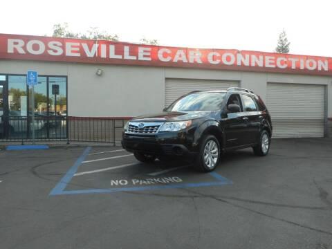 2009 Subaru Forester for sale at ROSEVILLE CAR CONNECTION in Roseville CA