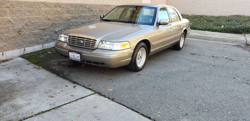 2002 Ford Crown Victoria for sale at SafeMaxx Auto Sales in Placerville CA