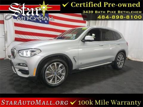 2018 BMW X3 for sale at STAR AUTO MALL 512 in Bethlehem PA