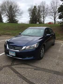 2013 Honda Accord for sale at Specialty Auto Wholesalers Inc in Eden Prairie MN