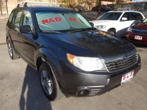 2009 Subaru Forester for sale at R & D Motors in Austin TX