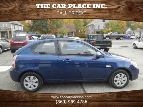 2010 Hyundai Accent for sale at THE CAR PLACE INC. in Somersville CT