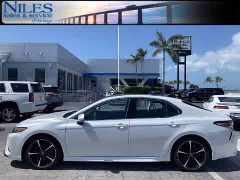 2019 Toyota Camry for sale at Niles Sales and Service in Key West FL