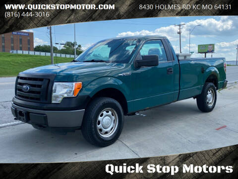 2012 Ford F-150 for sale at Quick Stop Motors in Kansas City MO