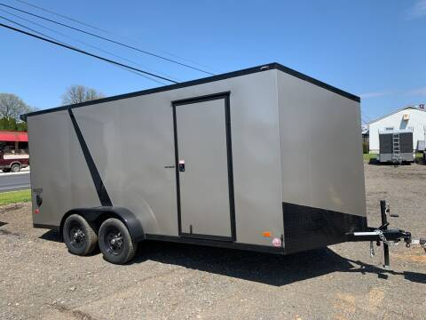 2020 Bravo Scout 7x16 Midnight  for sale at Smart Choice 61 Trailers in Shoemakersville PA