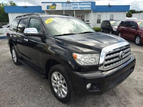 2012 Toyota Sequoia for sale at Go Smart Car Sales LLC in Winter Garden FL