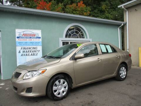 2009 Toyota Corolla for sale at Precision Automotive Group in Youngstown OH