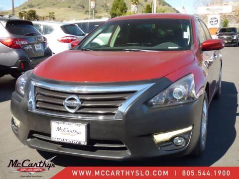 2013 Nissan Altima for sale at McCarthy Wholesale in San Luis Obispo CA