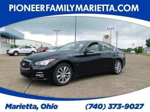 2014 Infiniti Q50 for sale at Pioneer Family preowned autos in Williamstown WV