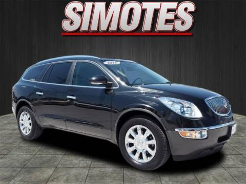 2011 Buick Enclave for sale at SIMOTES MOTORS in Minooka IL