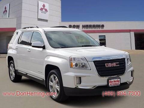 2017 GMC Terrain for sale at DON HERRING MITSUBISHI in Irving TX