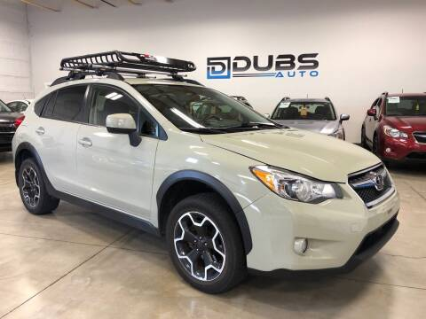 2013 Subaru XV Crosstrek for sale at DUBS AUTO LLC in Clearfield UT