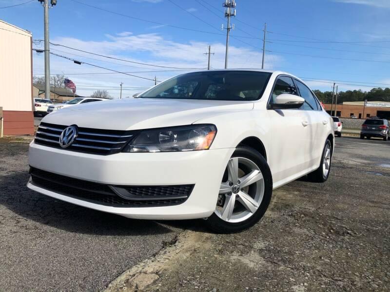 2012 Volkswagen Passat for sale at Atlas Auto Sales in Smyrna GA