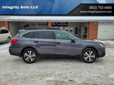 2018 Subaru Outback for sale at Integrity Auto LLC - Integrity Auto 2.0 in St. Albans VT