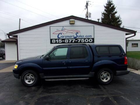 2004 Ford Explorer Sport Trac for sale at CARSMART SALES INC in Loves Park IL