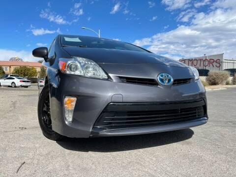 2014 Toyota Prius for sale at Boktor Motors in Las Vegas NV