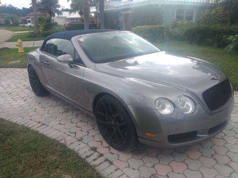 2009 Bentley Continental for sale at LAND & SEA BROKERS INC in Pompano Beach FL