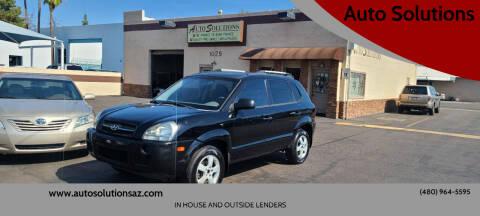 2008 Hyundai Tucson for sale at Auto Solutions in Mesa AZ