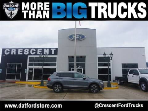 2018 Volkswagen Tiguan for sale at Crescent Ford in Harahan LA