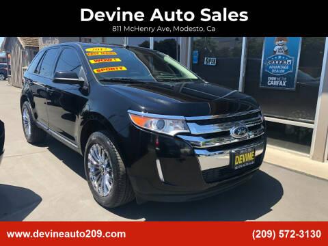 2012 Ford Edge for sale at Devine Auto Sales in Modesto CA