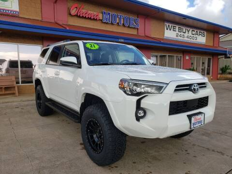 2021 Toyota 4Runner for sale at Ohana Motors in Lihue HI