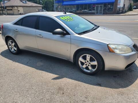 2008 Pontiac G6 for sale at Street Side Auto Sales in Independence MO