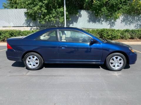 2003 Honda Civic for sale at BITTON'S AUTO SALES in Ogden UT