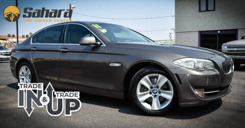 2011 BMW 5 Series for sale at Sahara Pre-Owned Center in Phoenix AZ