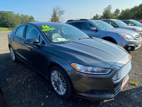 2016 Ford Fusion for sale at ALL WHEELS DRIVEN in Wellsboro PA