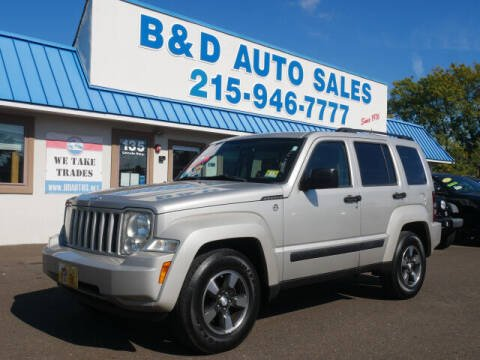 2008 Jeep Liberty for sale at B & D Auto Sales Inc. in Fairless Hills PA