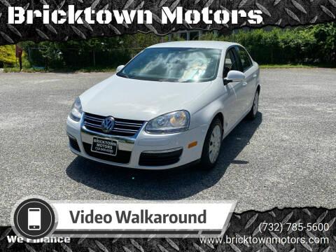 2010 Volkswagen Jetta for sale at Bricktown Motors in Brick NJ