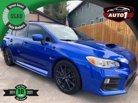 2018 Subaru WRX for sale at Street Smart Auto Brokers in Colorado Springs CO