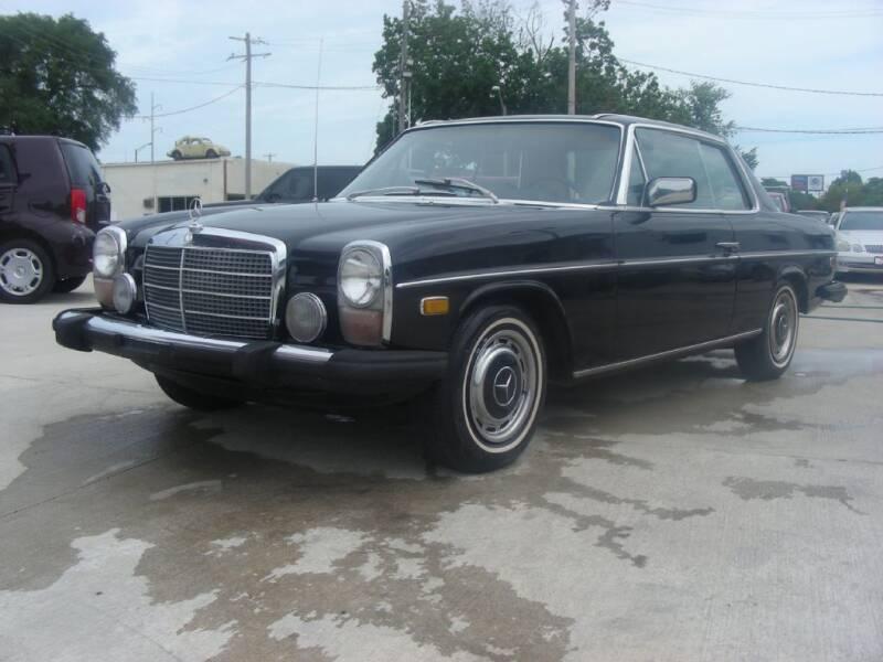1974 Mercedes-Benz 280-Class for sale at EURO MOTORS AUTO DEALER INC in Champaign IL