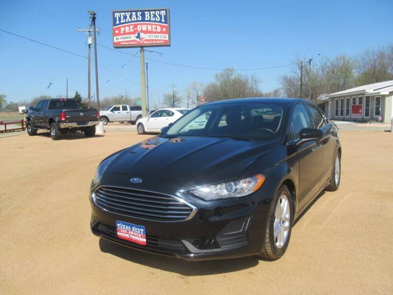 2019 Ford Fusion Hybrid for sale in Terrell, TX