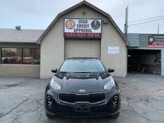 2017 Kia Sportage for sale at Utah Credit Approval Auto Sales in Murray UT