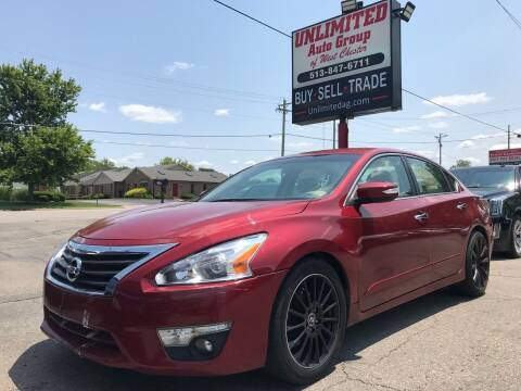 2015 Nissan Altima for sale at Unlimited Auto Group in West Chester OH