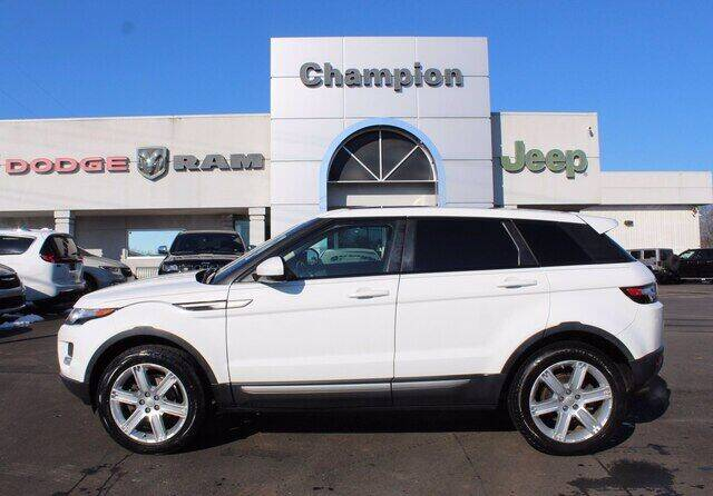 2015 Land Rover Range Rover Evoque for sale at Champion Chevrolet in Athens AL
