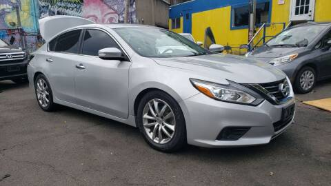 2017 Nissan Altima for sale at JOANKA AUTO SALES in Newark NJ