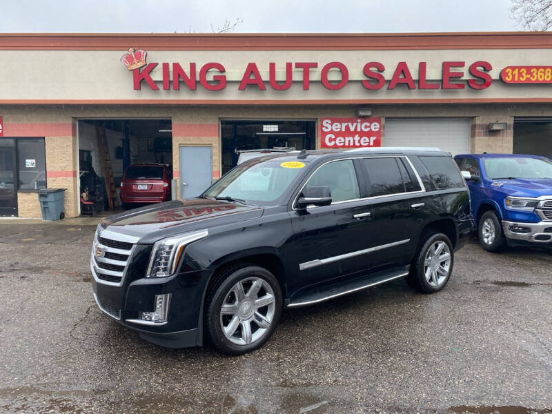 2016 Cadillac Escalade for sale at KING AUTO SALES  II in Detroit MI