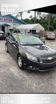 2014 Chevrolet Cruze for sale at Supreme Motors in Tavares FL