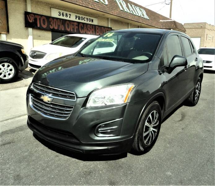 2016 Chevrolet Trax for sale at DESERT AUTO TRADER in Las Vegas NV
