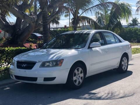 2007 Hyundai Sonata for sale at L G AUTO SALES in Boynton Beach FL