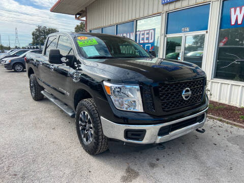 2019 Nissan Titan XD for sale at Lee Auto Group Tampa in Tampa FL