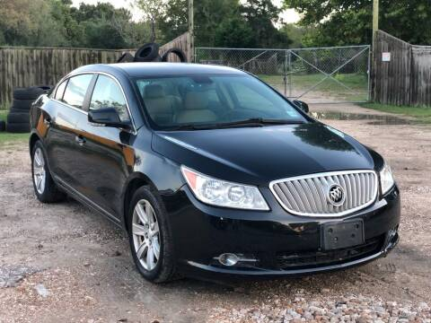 2011 Buick LaCrosse for sale at Preferable Auto LLC in Houston TX