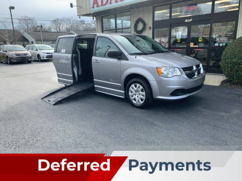 2018 Dodge Grand Caravan for sale at Adaptive Mobility Wheelchair Vans in Seekonk MA