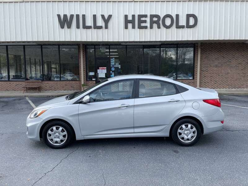 2015 Hyundai Accent for sale at Willy Herold Automotive in Columbus GA