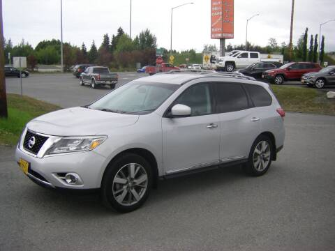2013 Nissan Pathfinder for sale at NORTHWEST AUTO SALES LLC in Anchorage AK