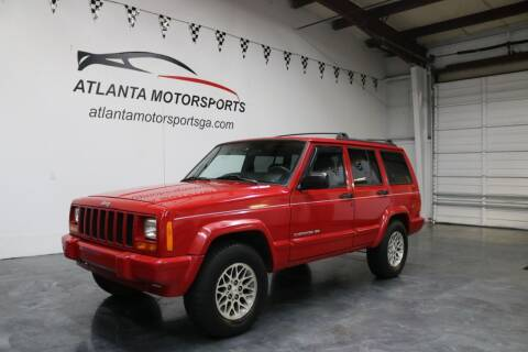 1999 Jeep Cherokee for sale at Atlanta Motorsports in Roswell GA