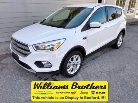 2017 Ford Escape for sale at Williams Brothers - Pre-Owned Monroe in Monroe MI